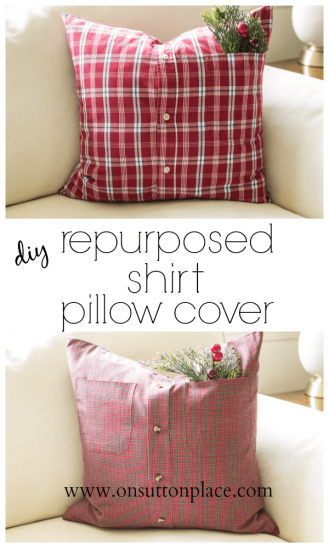 diy-repurposed-shirt-pillow-cover